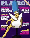 Marge Simpson Strips Off for Playboy