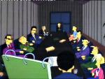 The Simpsons: Burns' Campaign Team