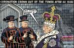 Cartoon: Coronation Crown Cobwebs
